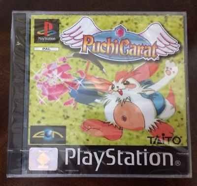 ***NEW & FACTORY SEALED*** PUCHI CARAT. Playstation, PS1. Unopened Game. Rare.