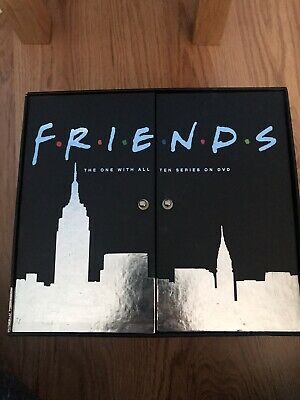 Friends - Series 1-10 - Complete (DVD, 2005, 30-Disc Set, Box Set) Used