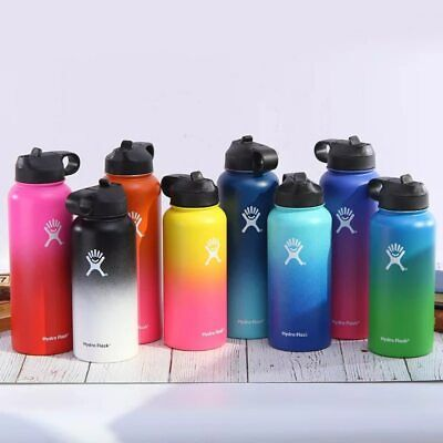 Stainless Steel Bottle Hydro Flask Vacuum Insulated Wide Mouth Travel Portable
