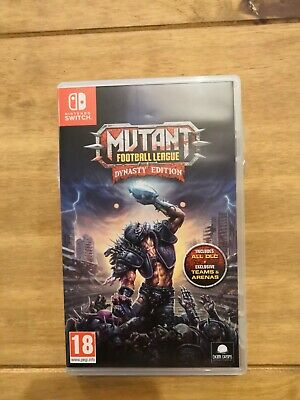 Mutant Football League Dynasty Edition Nintendo Switch game -  new unsealed