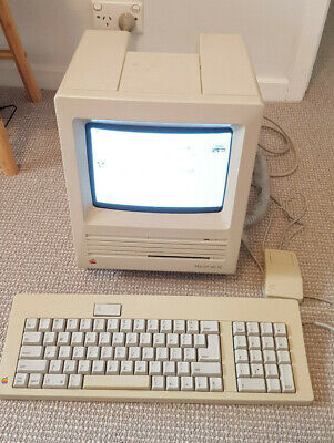 Vintage Apple Macintosh SE - Working with SW, Keyboard & Mouse Great Condition