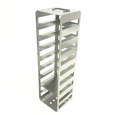"Southern Labware Laboratory Chest Freezer Rack Stainless Steel for 2"" Boxes"