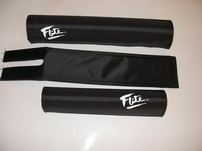 FLITE ICE old school BMX padset foam racing pads *MADE IN USA* SHINY GOLD