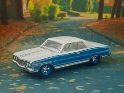 1st Gen 1964–1967 Chevrolet Chevelle SS V-8 Kustom Coupe 1/64 Scale Ltd Edit H