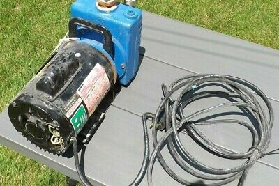 USED AMT Commercial Duty Pump  1/2 HP Motor