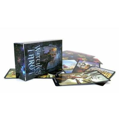 Witch Shadow Tarot Card Deck Oracle Set Magic Fate Telling Cards Collection Gift