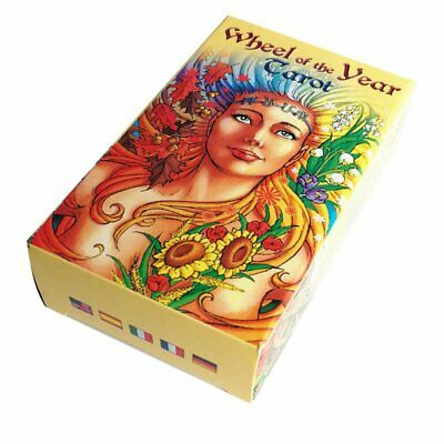 Wheel of the Year Tarot Card Game Deck Cards Future Telling Game Fashion