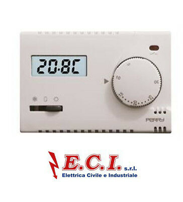 Perry 1TI TE313/ Mc Thermostat Electronic 230V Est /off/ Winter