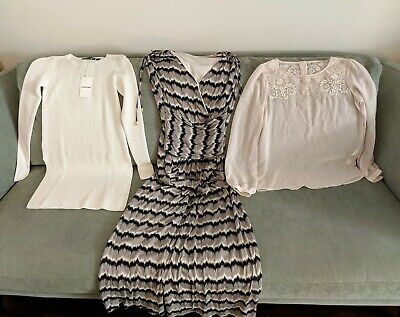 6/XXS - NWT COUNTRY ROAD jumper ALICE Temperley LONDON maxi FOREVER NEW blouse