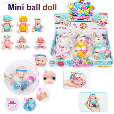 Doll Transparent Plastic Ball Palm Doll Ball Simulation Pocket Doll Play House