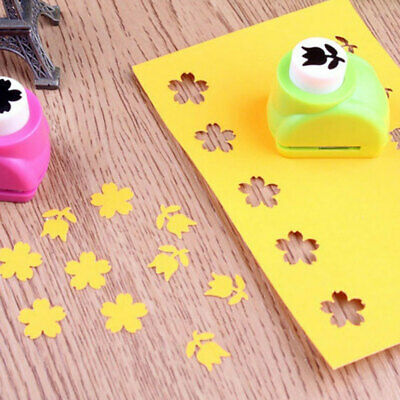 5753 42 Styles Hand Shaper Scrapbook Cutter Shaper Hole Punch Tool Child Kid
