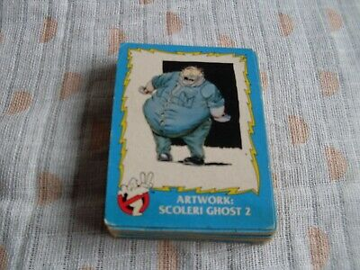 1989 Ghostbusters 11 TRADING CARDS