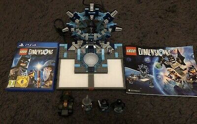 PS4 Lego Dimensions Starter Pack 100% complete with game and figures
