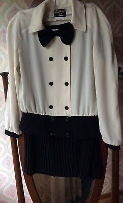 Vintage Stitches Gold Label Two Piece Outfit Size 10