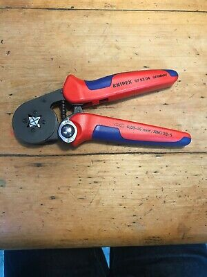 NEW KNIPEX 97 53 04 Self-Adjusting Crimping Pliers GERMAN QUALITY Free Postage