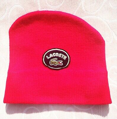 Cappello Lacoste Vintage Made in France