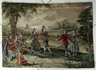 Bild Teppich Vintage Alt China Tapesterie Needle Old Kina Needlepoint Rug Kelim