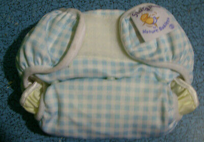 All in One Nature Babies Fitted Small Washable Nappies 8 -18 lb