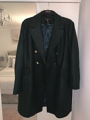 Womens Coat Size 20, Green, Double Breasted Design, Ladies, Girls, Winter Coat