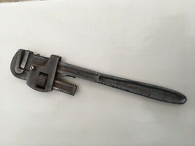 """Vintage 18"""" Stilson Pipe Wrench - Very Good Condition"""