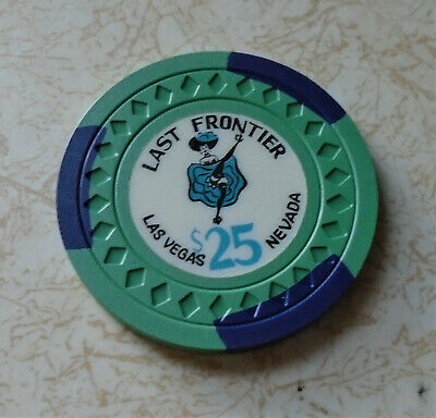 Obsolete, Early Last Frontier, Las Vegas $25.00 Casino Chip