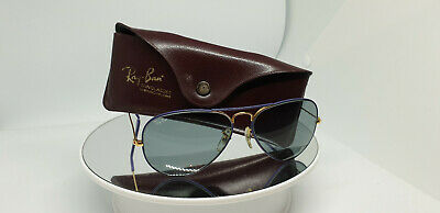 Vintage B&L Ray Ban Classic Colours Violet 58mm W0334 Sunglasses