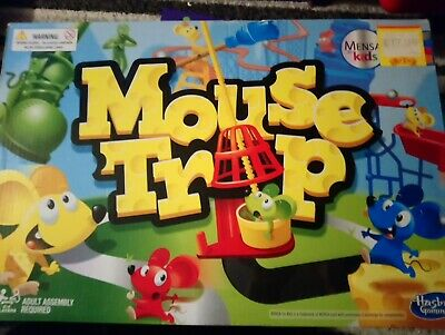 Mouse Trap Board Game - Hasbro - Used condition