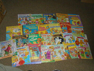 24 The Berenstain Bears Books Children Kids  Free Shipping! Trick or Treat/Ghost