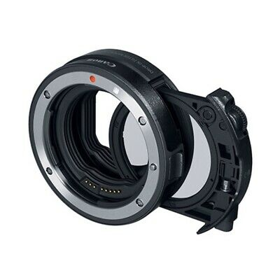 Canon EF-EOS R Drop-in Filter Mount Adapter with Circular Polarizing Filter A