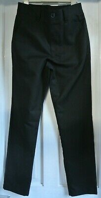 New Boys Next School Trousers Black  size 13 years slim fit