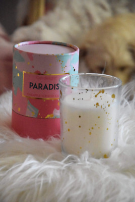 CANDLELIGHT With Love XO Wax Filled Pot Candle in Gift Box Prosecco Scent 220g