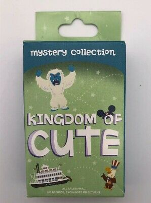 Disney Parks Kingdom of Cute Series 2 Pin Mystery Box Pack of 2 Pins Sealed New