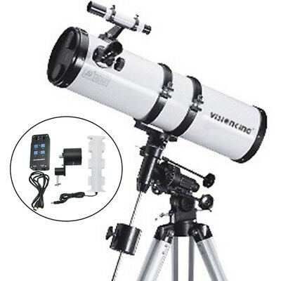 Visionking150 - 750mm EQ Reflector Newtonian Astronomical Telescope + motor