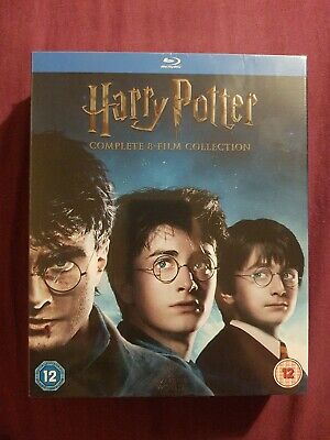 Harry Potter Complete 8-film Collection Blu-Ray  16 disc set SEALED