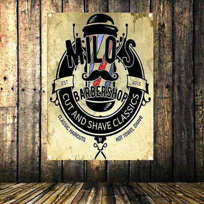 CUT AND SHAVE CLASSICS  Barber shop poster 96X144 CM cloth painting banner flag