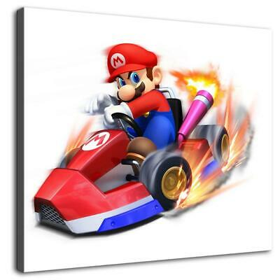 """12""""x14""""Super Mary Mario driving HD Canvas prints Painting Home Decor Wall art"""