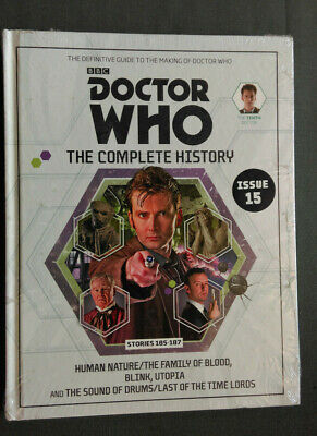 Doctor Who The Complete History Issue 15 (Volume 56) Magazine Book Tennant NEW!