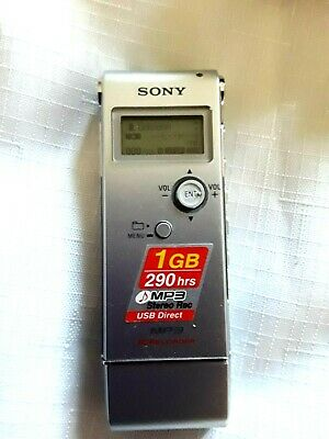 SONY ICDUX70 Digital Voice Recorder MP3 Stereo Recording and Playback