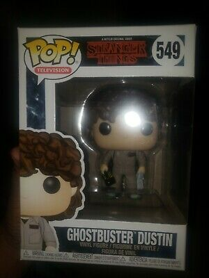 Funko POP! Television: Ghostbuster Dustin #549 Stranger Things