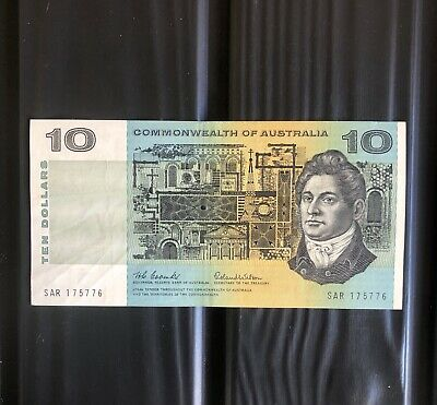 Scarce,1966,$10,Coombes/Wilson,Banknote.(VF+).