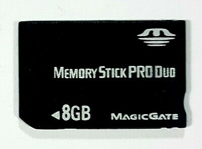 Sony Psp Memory Stick pro Duo 8GB Magic Gate Memory Card