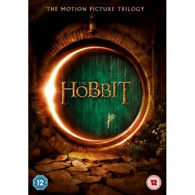 The Hobbit Trilogy DVD Box Set Complete 3 Movie Collection - Martin Freeman