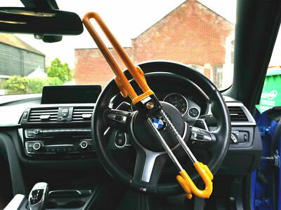 Steering Wheel lock for Car Heavy Duty high security anti theft Clamp Locks UK