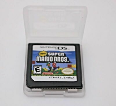New Super Mario Bros. (DS, 2006) Only Cartridges for DS / DSi / 3DS XL / 2DS US