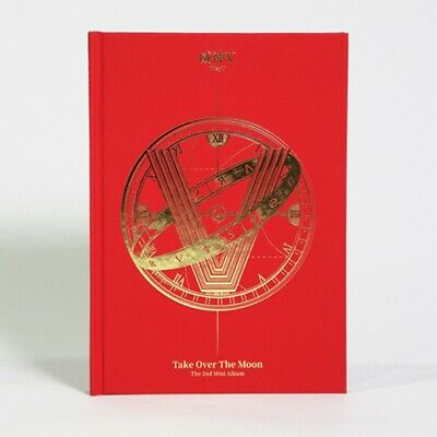 WayV 2nd Mini Album - [Take Over The Moon] CD+P.Book+P.Card+Circle Card+F.Poster