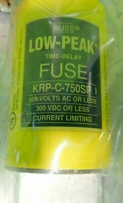 New Buss Krp-C-750Sp 600 Volts Time-Delay Fuse