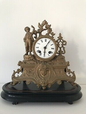 ANTIQUE FRENCH MANTEL Chime CLOCK  JAPY FRERES MOVEMENT