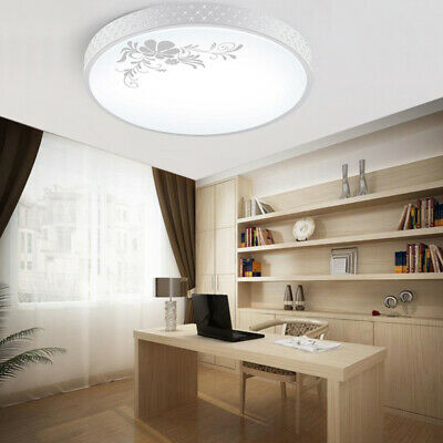 LED Ceiling Light Fixture Soft Round Surface Mounted Lamp Wall Bedroom Lightings