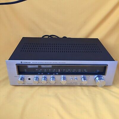 Trio ( Kenwood ) KR-3090 AM FM Stereo Receiver with Phono