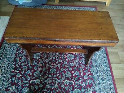 Antique Oak double Piano Stool
